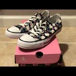 Converse X Hello Kitty CTAS OX Black Pink